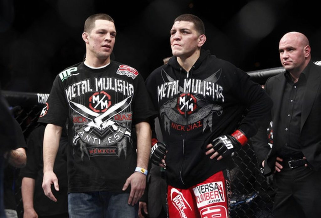 Nate and Nick Diaz