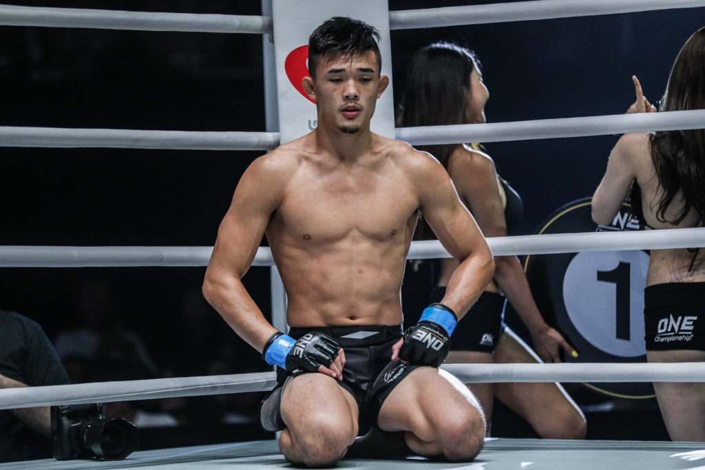 ONE Championship's Christian Lee reflects after being disqualfied for an illegal suplex