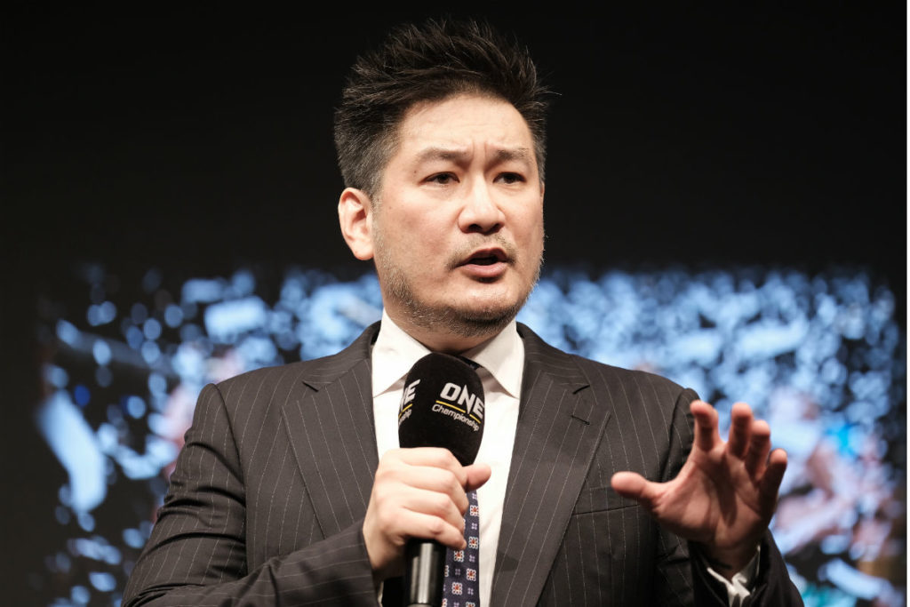 Chatri Sityodtong announces that ONE Championship will host an event in Tokyo, Japan
