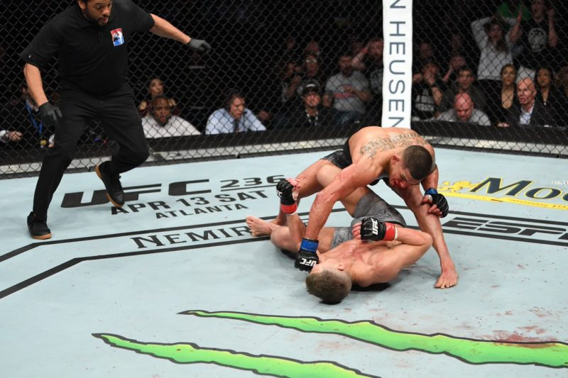 Anthony Pettis follows up after his brutal superman punch finish at UFC Fight Night 148 against Stephen Thompson