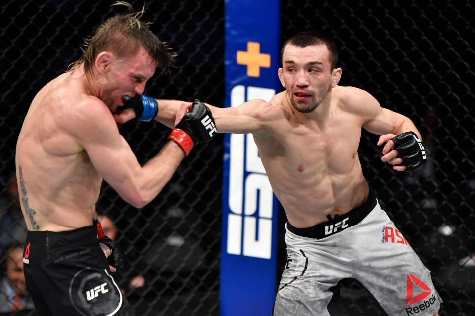 UFC flyweights Askar Askarov and Alexandre Pantoja to reportedly fight on July 18 3