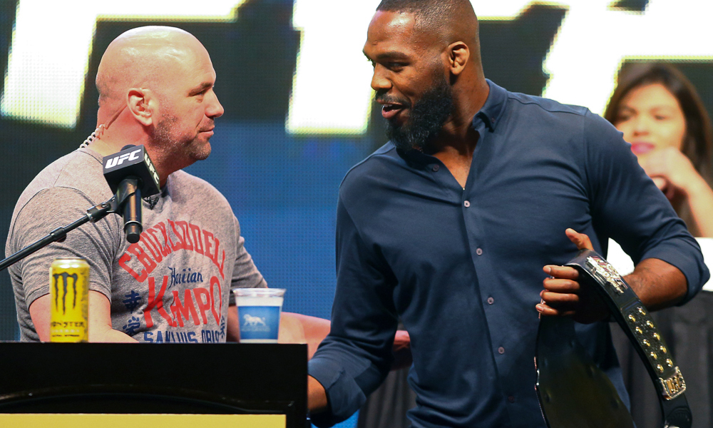 Dana White 'really worked hard' to get Jon Jones sole defeat overturned to no avail 21