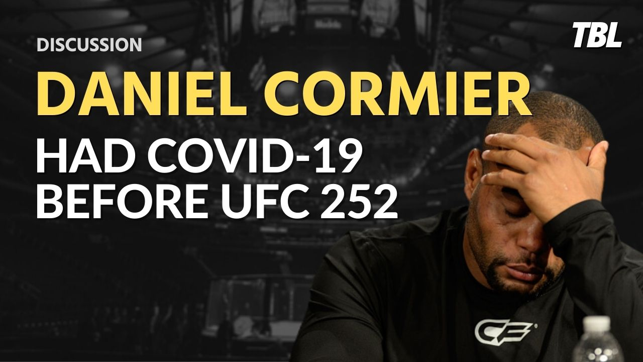 Daniel Cormier tested positive for COVID-19 before facing Stipe Miocic at UFC 252 2
