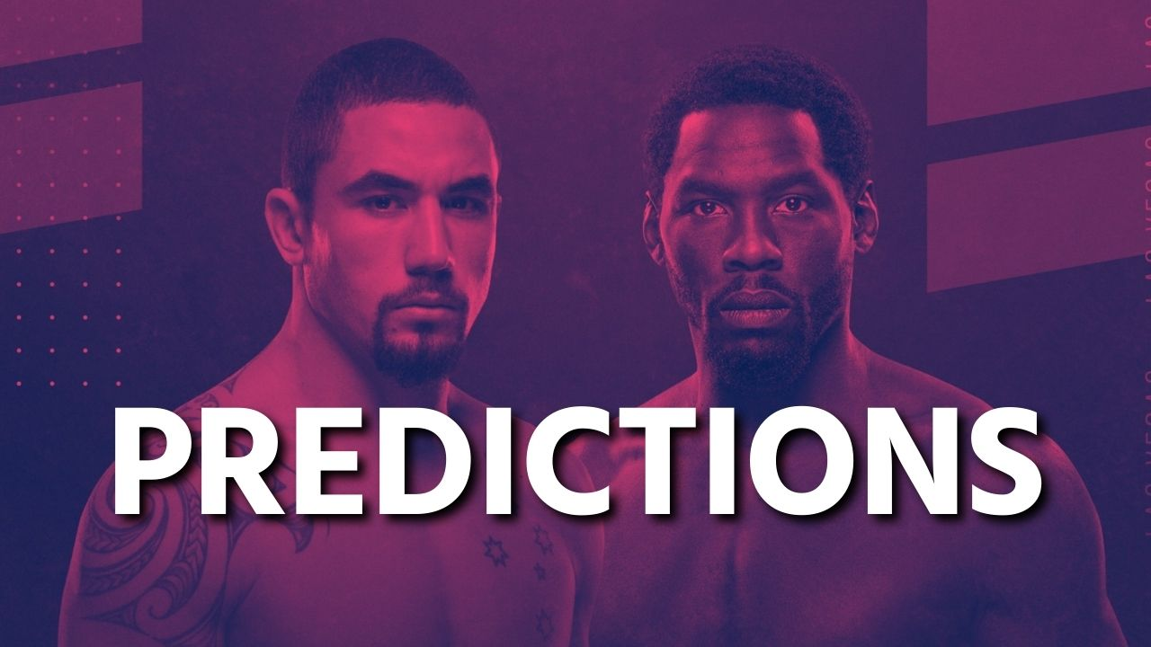 UFC 254: Robert Whittaker vs. Jared Cannonier - Preview & Predictions