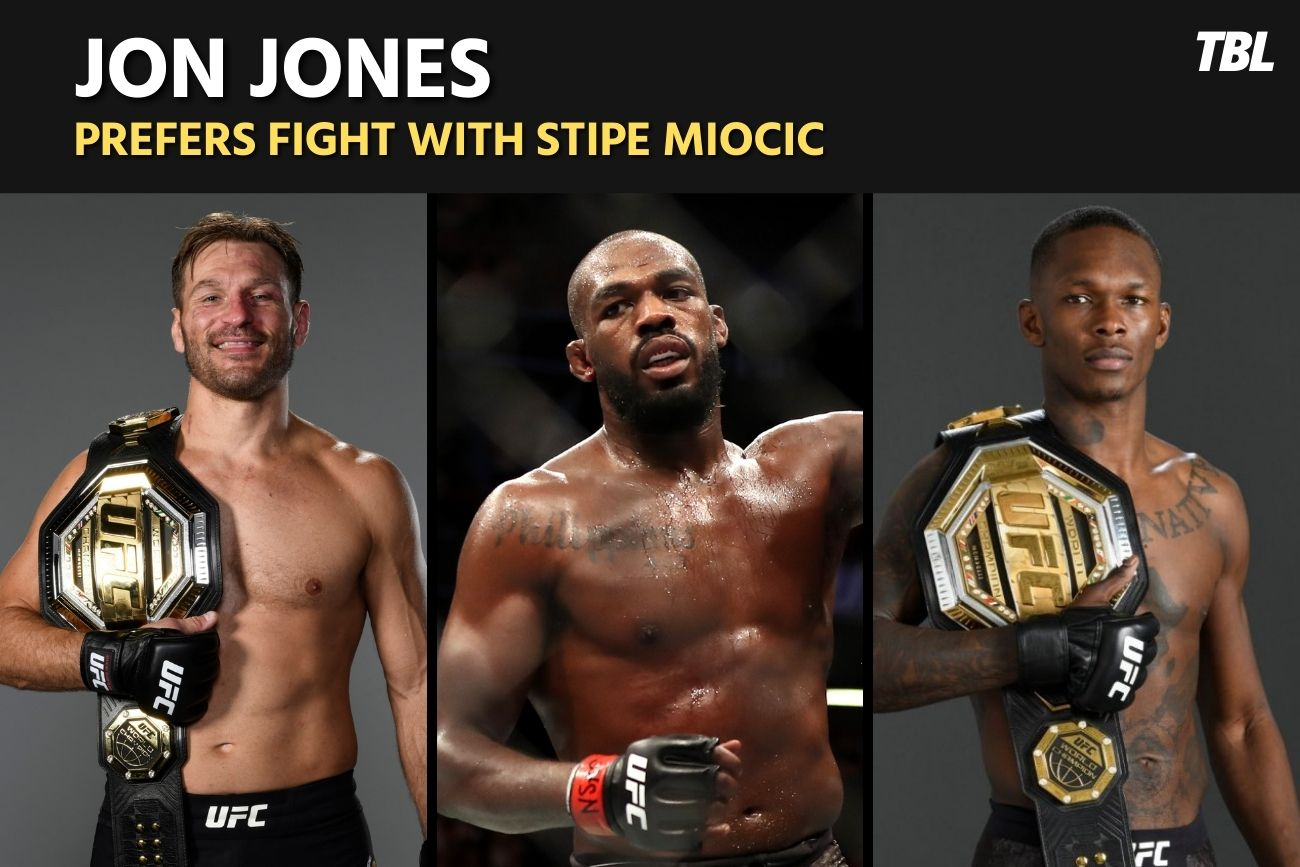Jon Jones focused on Stipe Miocic fight, doesn't want to 'waste energy' on Israel Adesanya 6