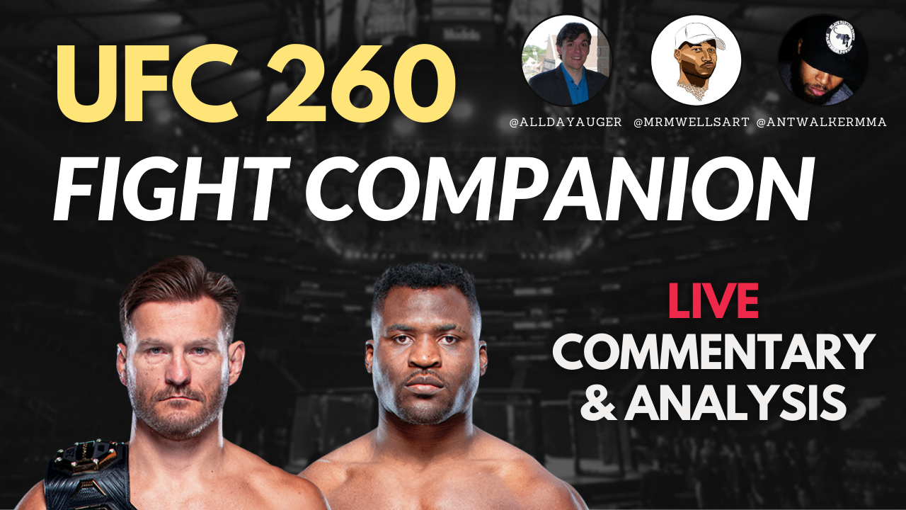 UFC 260 Fight Companion & Watch Along: Miocic vs. Ngannou PPV 4