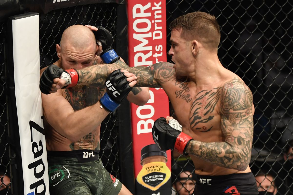 UFC 264 odds have Dustin Poirier as underdog vs. Conor McGregor 2